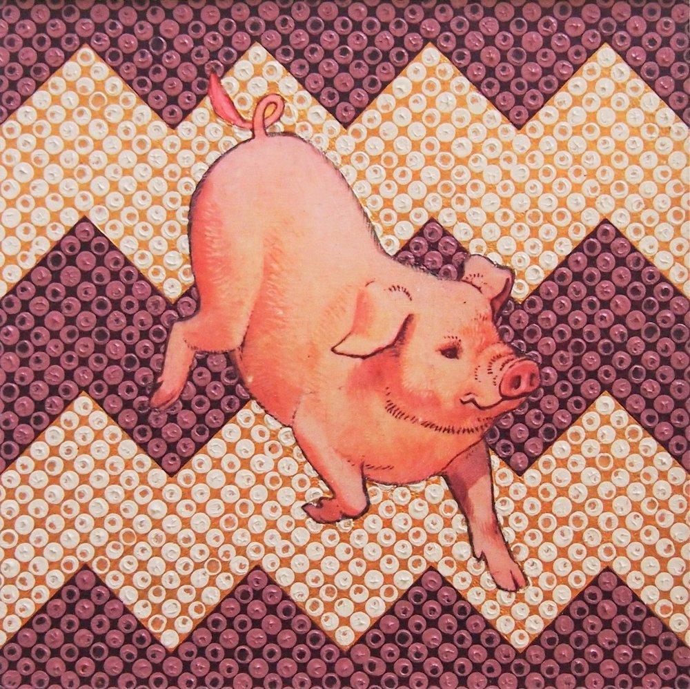 Bacon 12x12 £100