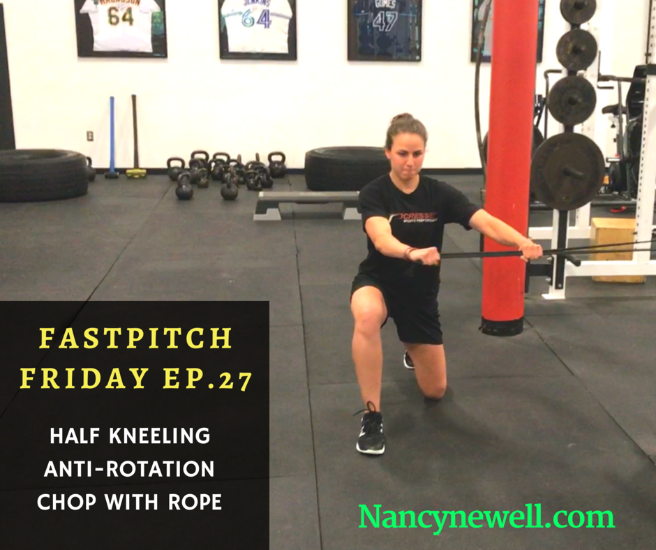 Fastpitch Friday Episode 27 My Favorite Go-to Core Exercise