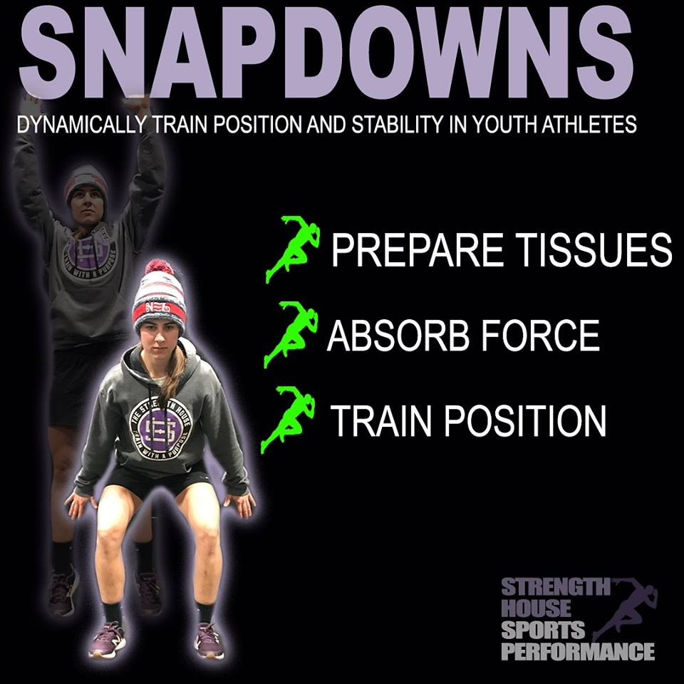 Click on the photo to watch a video of how to perform a snap down