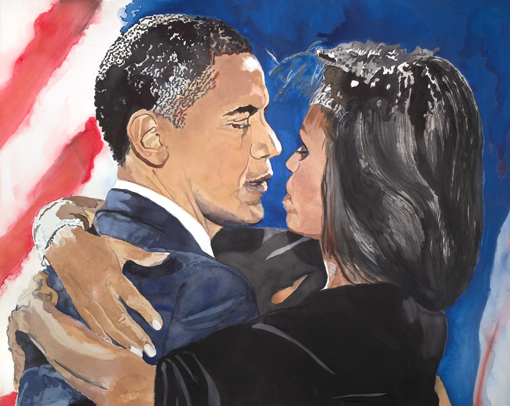 Barak and Michelle