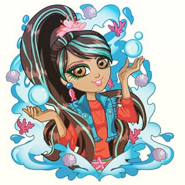 Yana :) #Yana #Zeenie #Zeeniedollz #ecowarrior #illustration
