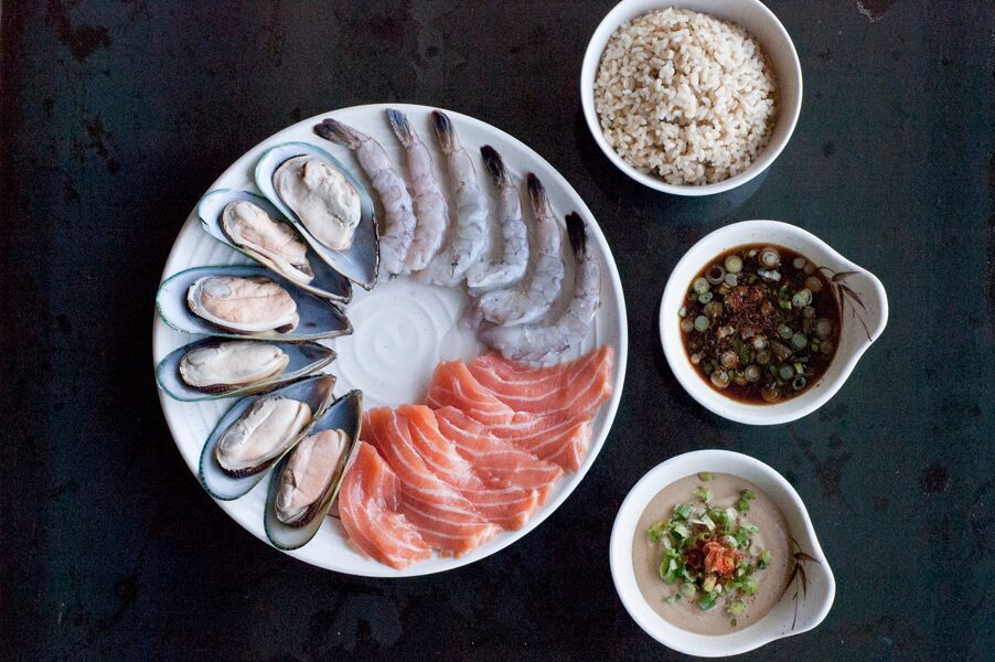 Seafood Selection | photo courtesy of Cal Shabu