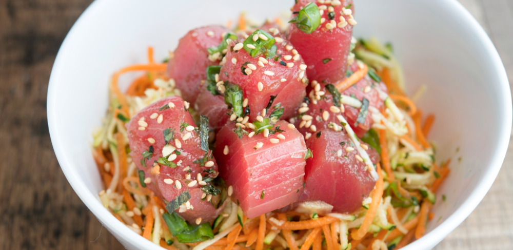Ahi Poke Bowl from Mar DTSA | photo courtesy of Mar