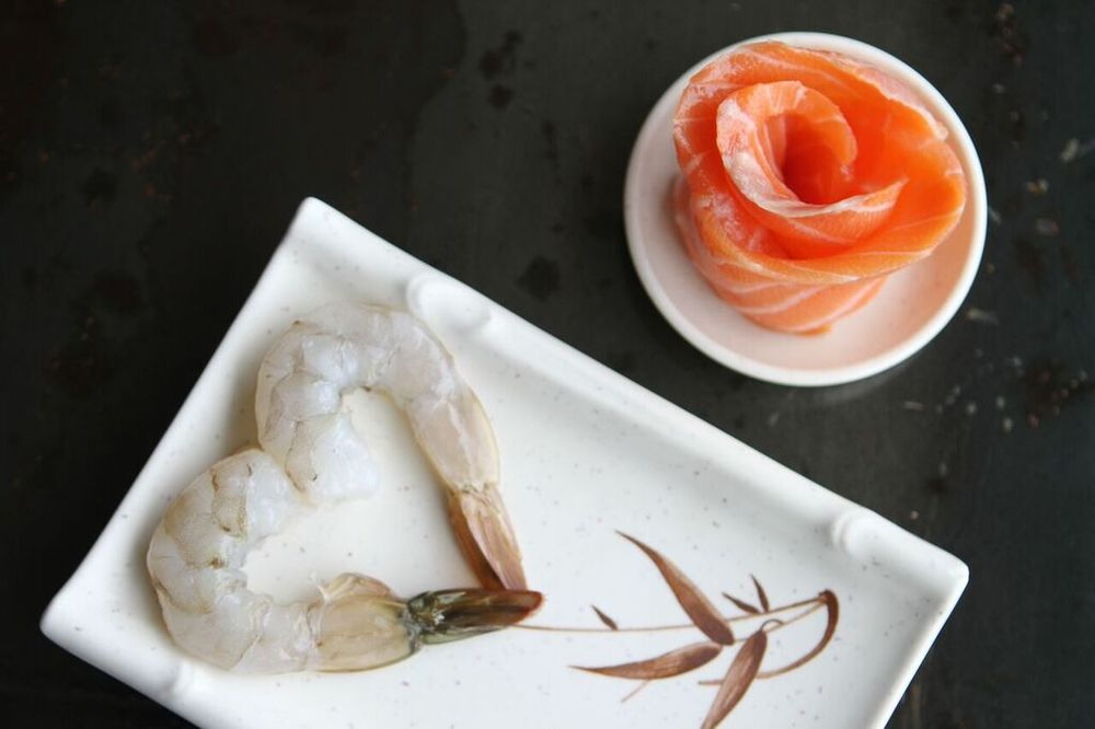 Shrimp and Salmon | photo courtesy of Sarah King