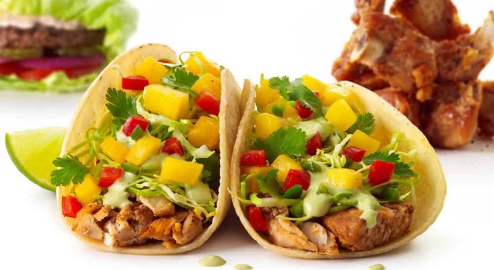 Two Fish or Shrimp Tacos $4 during Happy Hour | photo courtesy of Eureka!