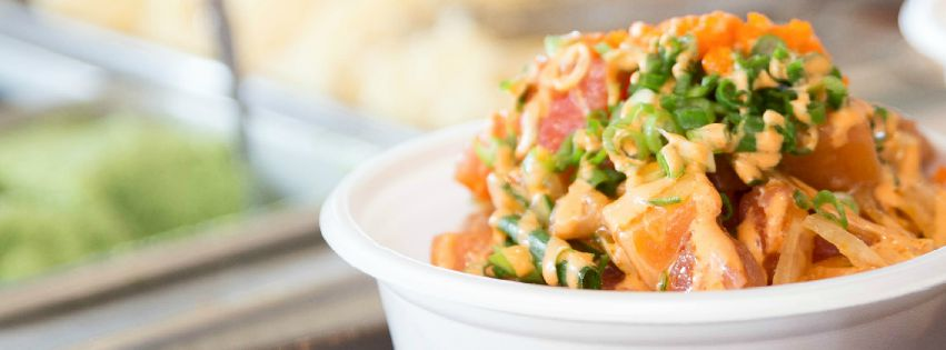 Build Your Own Poke Bowl at PokiNometry, Anaheim | photo courtesy of PokiNometry