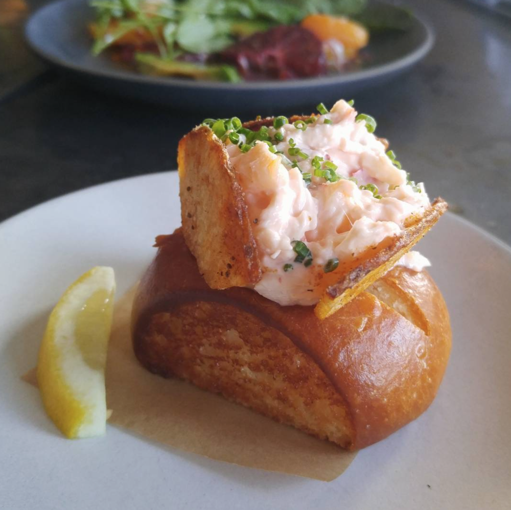 Lobster Roll Snack. Photo courtesy of @marzlet on Instagram.