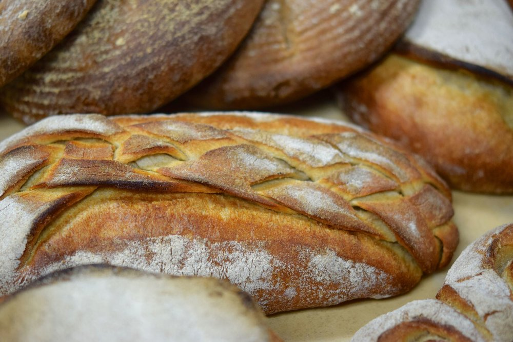 Pandor's fresh breads baked daily for their panini sandwiches