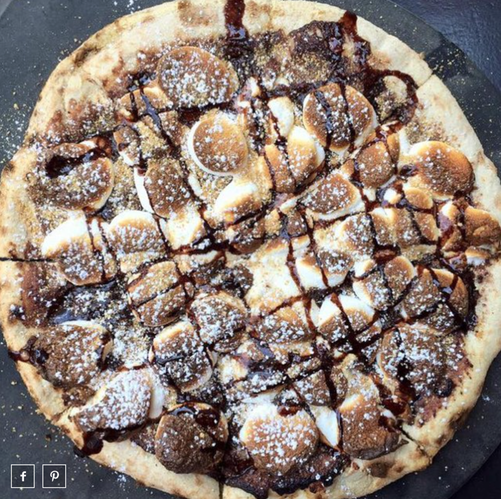 S'mores Pizza | Photo courtesy of Bar Toma via Thrillist