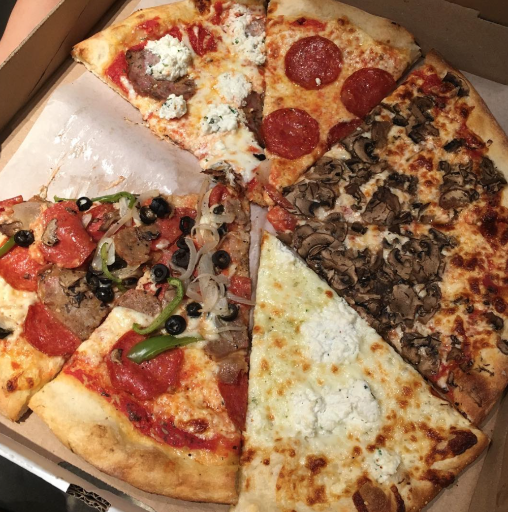 A variety pack of Secret Pizza's current offerings | photo courtesy of Gracie Lee on instagram