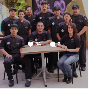 The team behind @CaliforniaCreationz all bring something unique to the table, which in turn, brings you the most well-rounded food services out there! For each of them, this is more than a job, it is a #passion. They were one of the first teams to join us, and have grown so much since! Whether they're serving 10 people or 1000, they will always bring their best to the plate! PC: Meg of @100eats