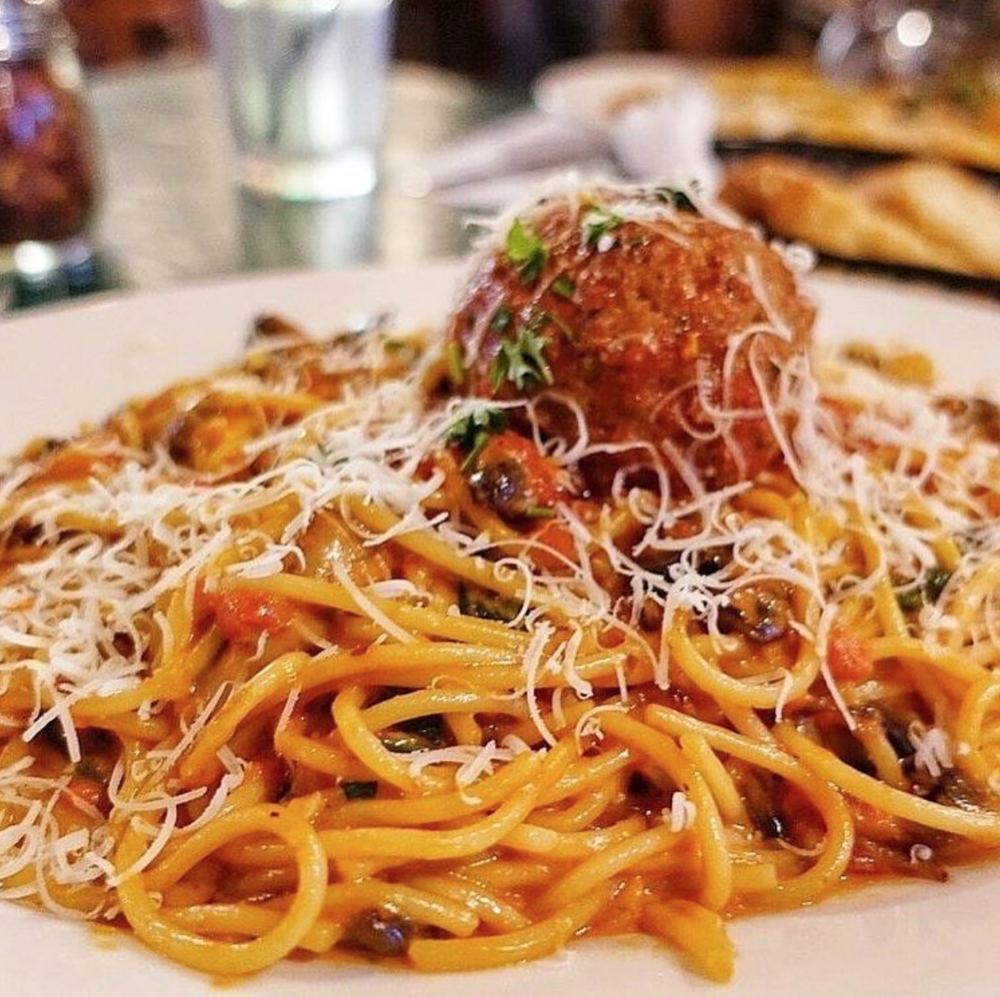 Mama D's famous spaghetti family recipe | Photo courtesy of Spoon University- UCI via Instagram