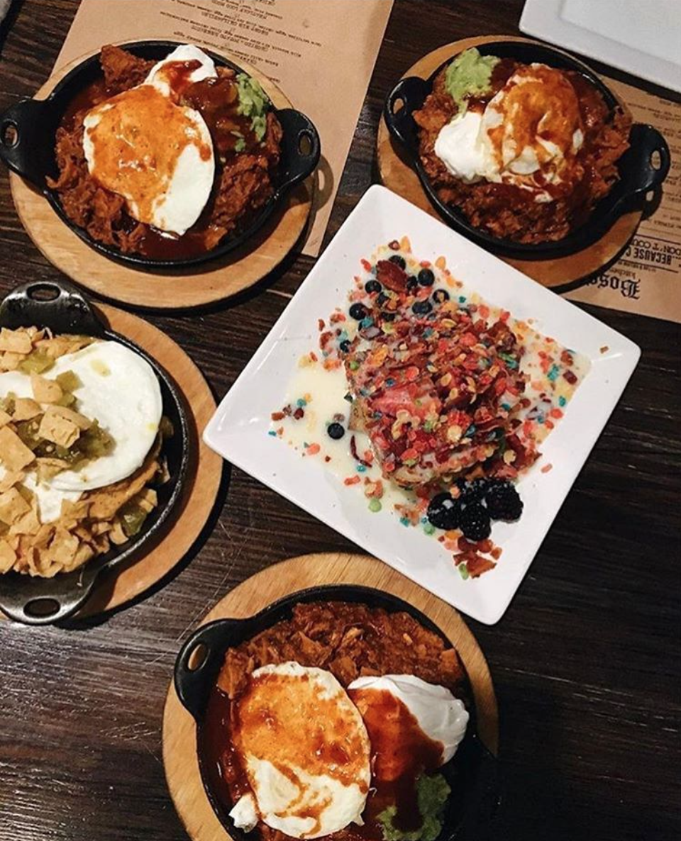 Bosscat's southern comfort dishes | Photo courtesy of Bosscat Kitchen & Libations via Instagram