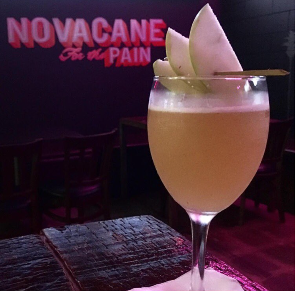 One of Novacane's famed Frank Ocean-inspired cocktail | Photo courtesy of Novacane Sports Bar & Grill via Instagram