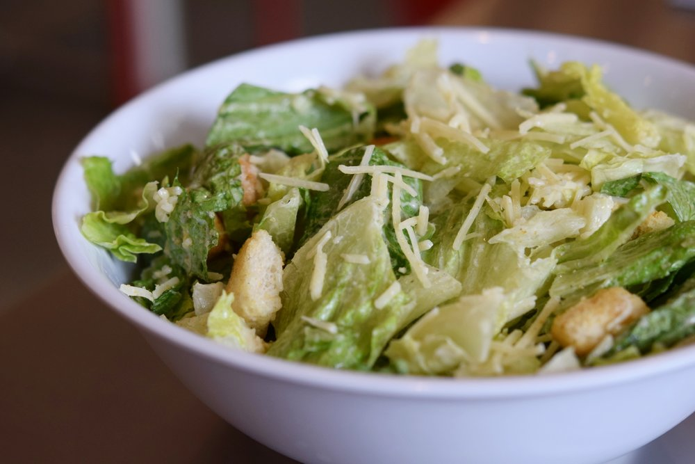 Fresh Brothers' Caesar Salad | photo courtesy of Fresh Brothers