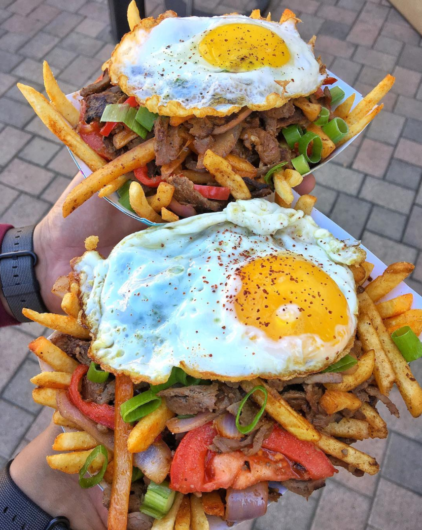 Doner Saltado Fries from MEAT STREET VIP vendor DonerG | photo courtesy of Foodbeast