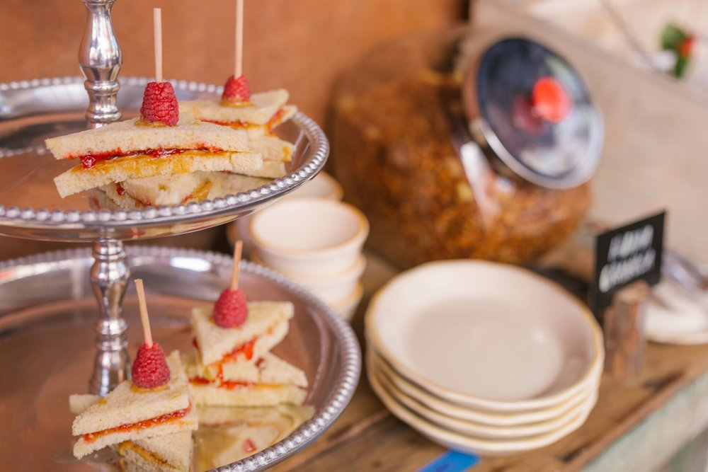 PB&J finger sandwiches at Habana, perfect for Tea Time with Mom | photo courtesy of 100eats
