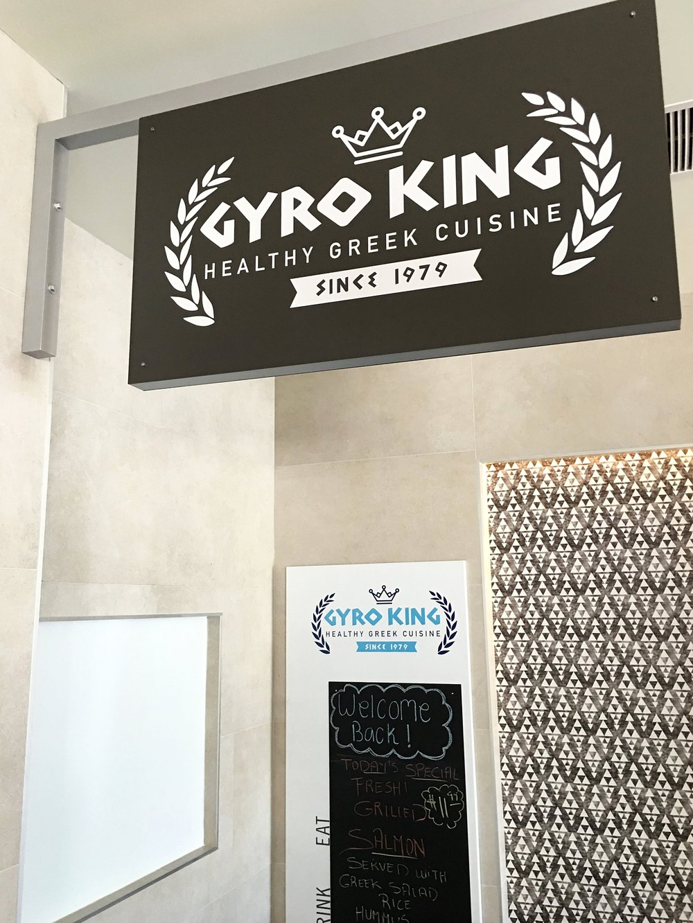 Gyro King's stall at TRADE Irvine | photo courtesy of 100eats