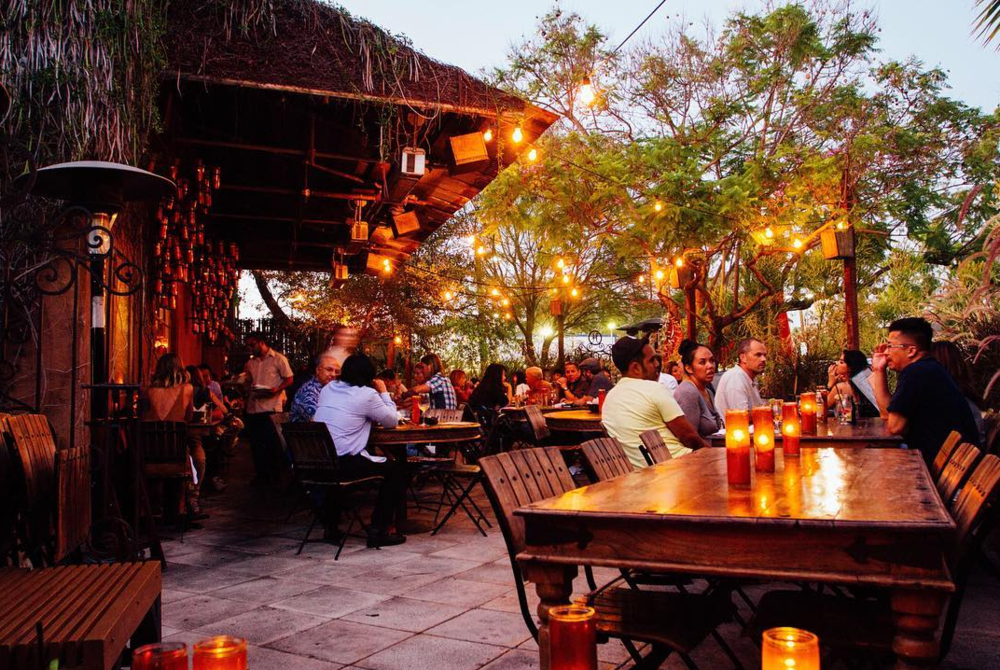 Habana Costa Mesa's romantic 'al fresco' patio dining | photo courtesy of Habana
