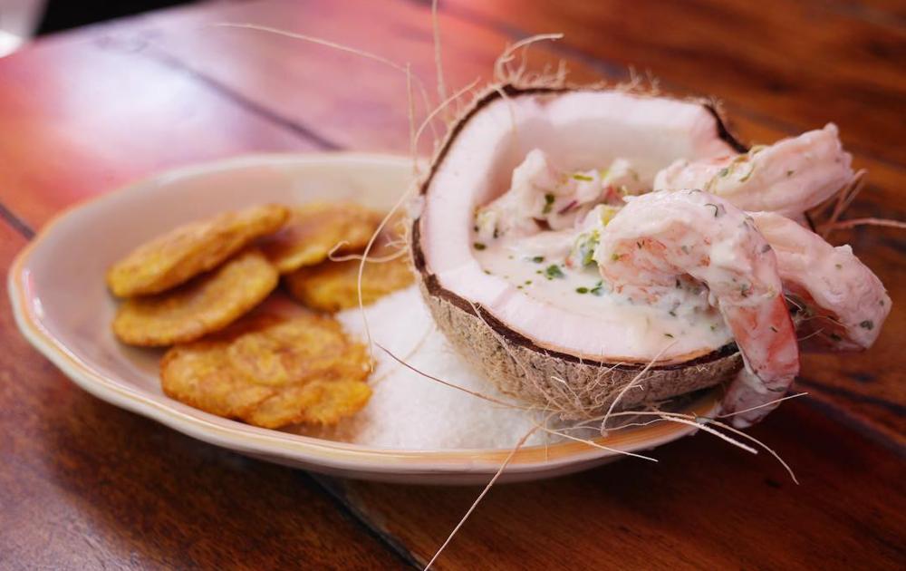 Shrimp and Halibut Ceviche | photo courtesy of Habana