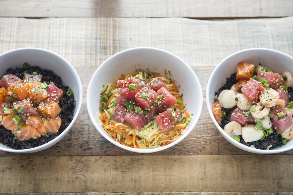 Varietal Poke Bowls from MAR, located at 4th Street Market