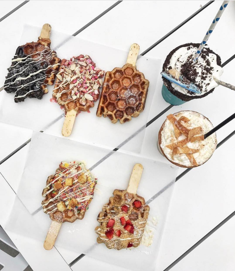 Belgian Life Waffle 'POPS' from Sweet COMBforts | photo courtesy of @mizz_ro_ro on instagram