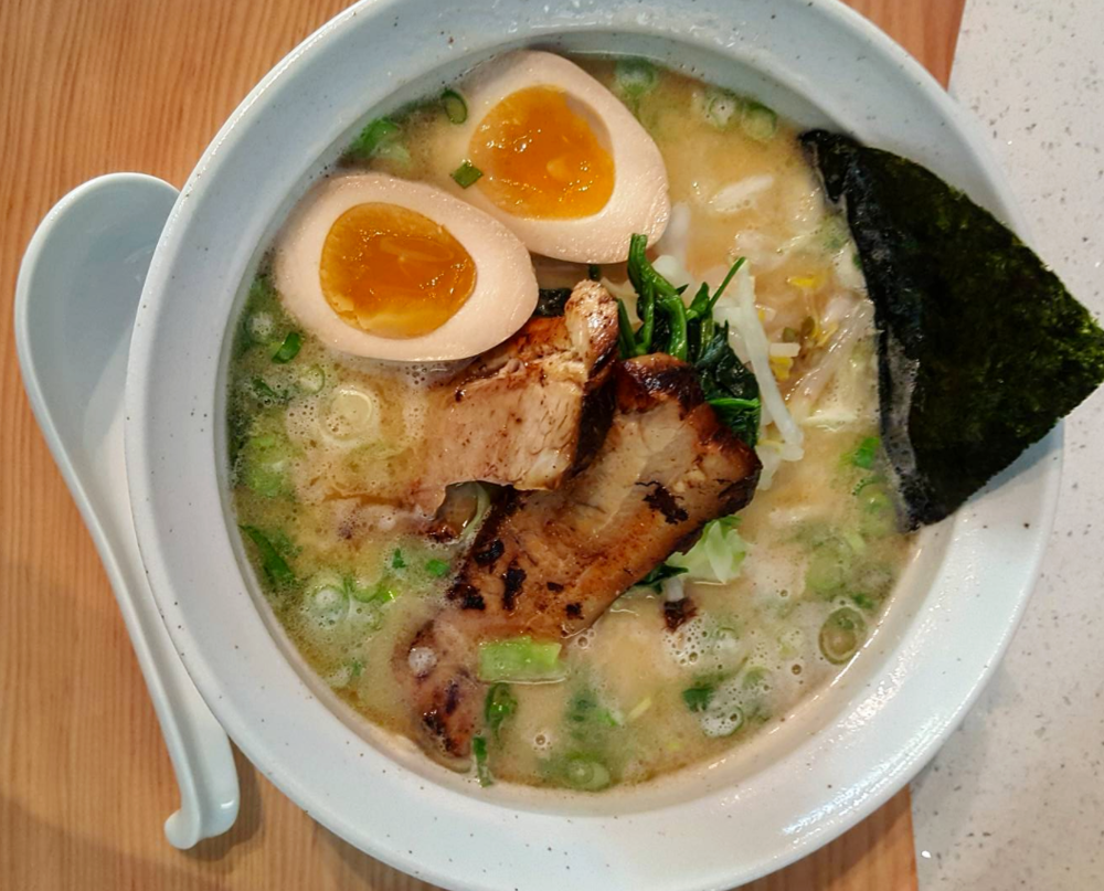 Authentic homemade broth and noodles in Hiro Nori's Ramen  | photo courtesy of Hiro Nori