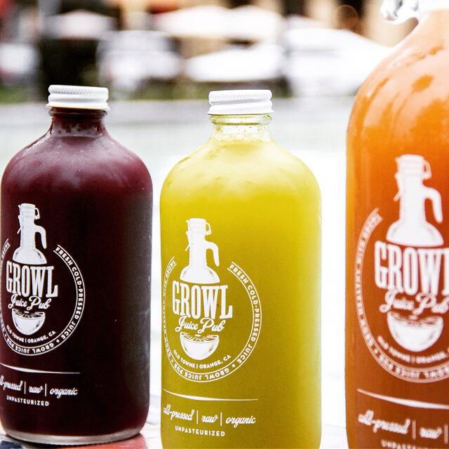 Reset your body with Growl's detox cleanse | photo courtesy of Growl Juice Pub