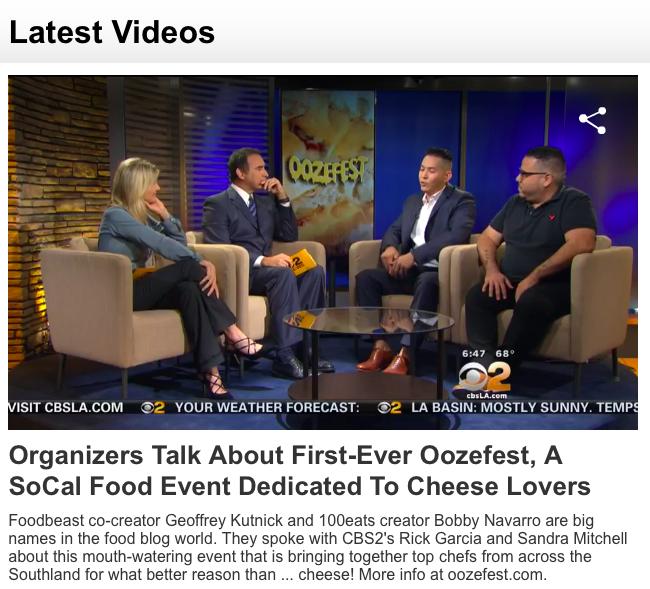 CBS - October 2015