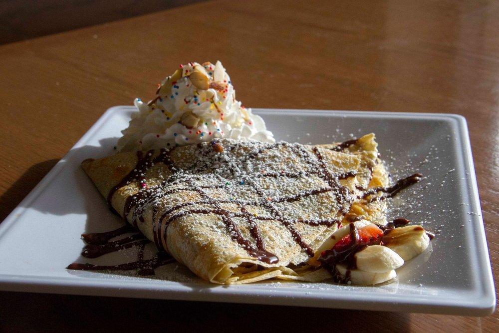 Crepes au chocolate please everyone's tastebuds at Pandor | photo courtesy of Pandor