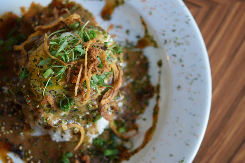 Aside from their sliders, Hatch serves up a killer Loco Moco | photo courtesy of 100eats