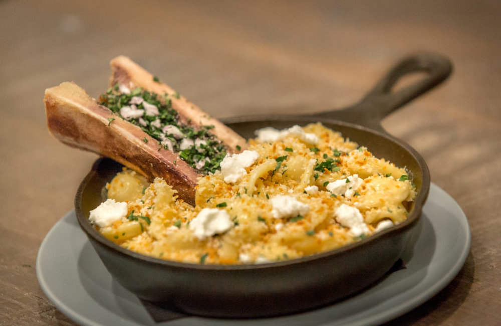 Bone Marrow Mac & Cheese | photo courtesy of 100eats