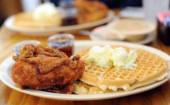 Roscoe's waffles are iconic, get your syrup ready | photo courtesy of Roscoe's House