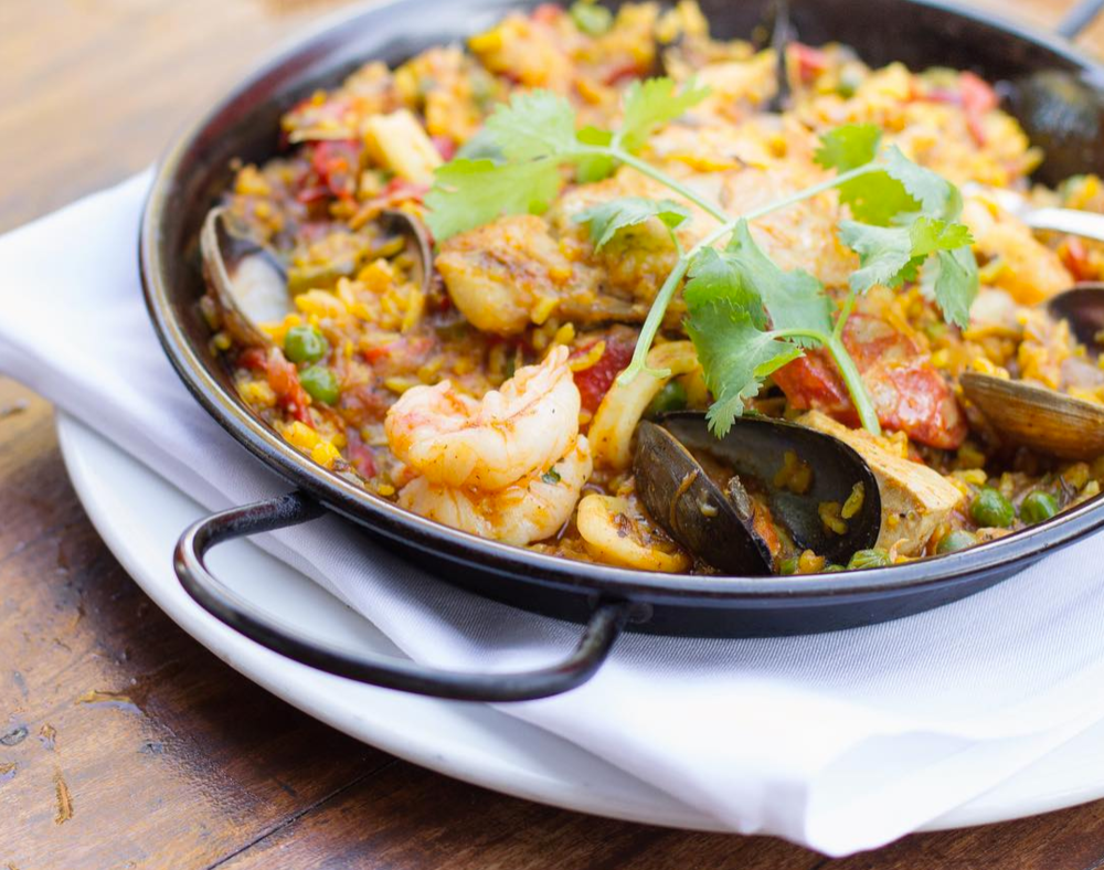 Paella A La Habana | photo courtesy of Habana