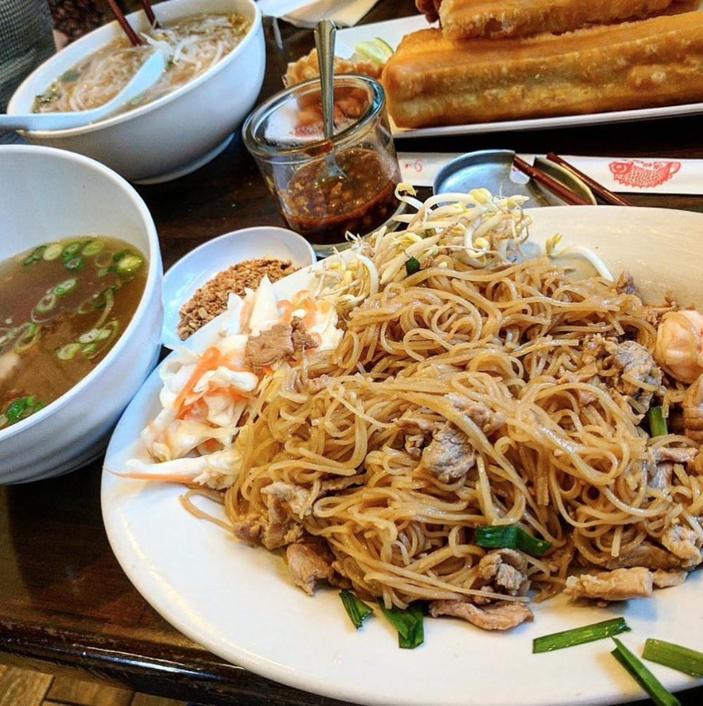 If you find yourself in the great northwest, be sure to stop by Phnom Penh Noodle House for their special rice noodles