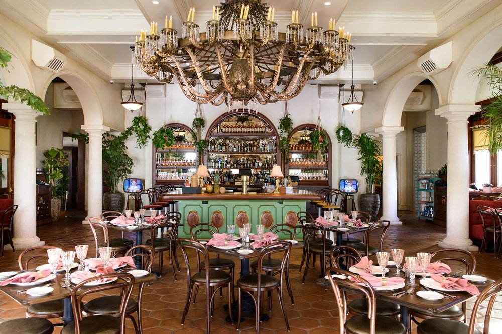 Restaurant Habana's dining room at The Irvine Spectrum Center | photo courtesy of Rob Stark