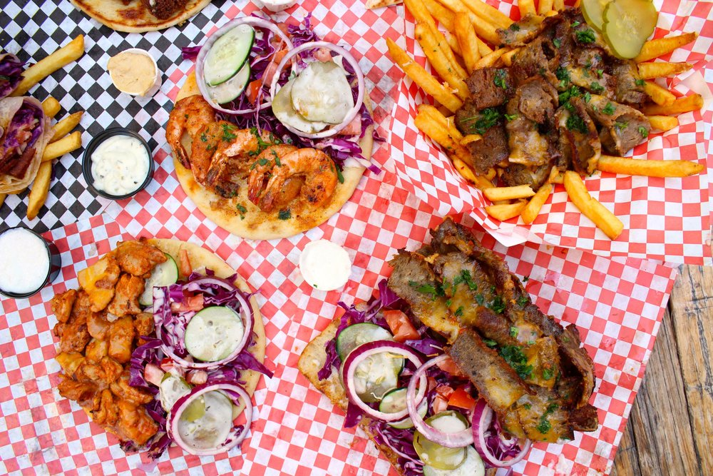 Classic Halal Food from Buqqa Mediterranean Grill, now available at downtown Santa Ana's popular food hall, 4th Street Market | photo courtesy of 100inc Agency