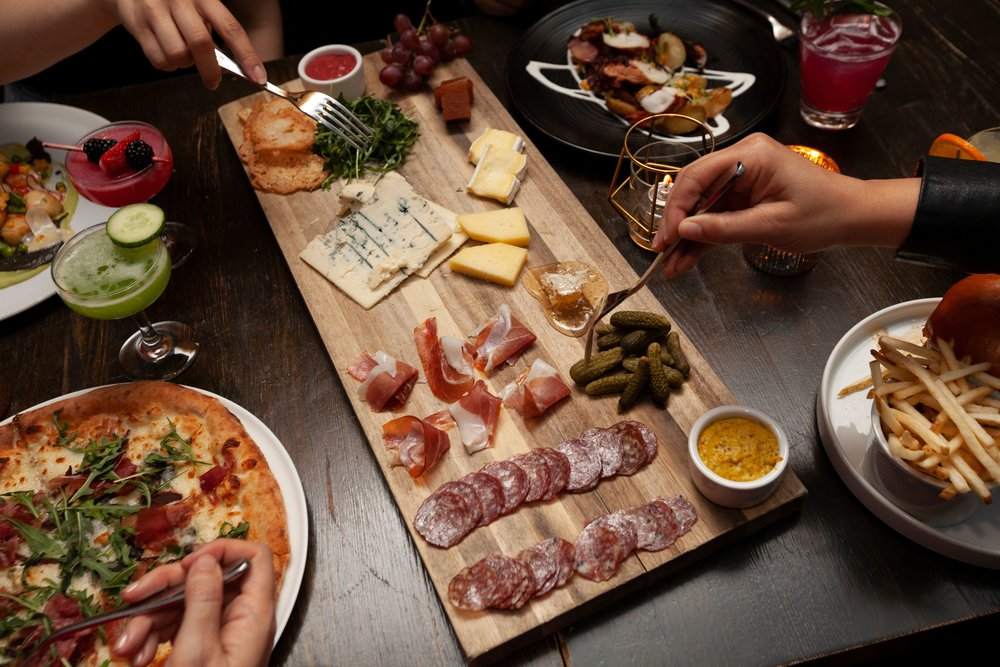Mesa's seasonal menu features a high quality charcuterie selection and more | photo courtesy of 100inc Agency