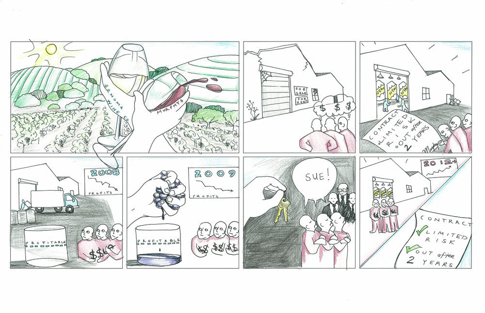 Example of successful illustration of case narrative as a comic
