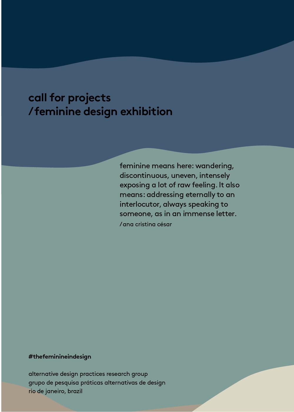 Feminine in design
