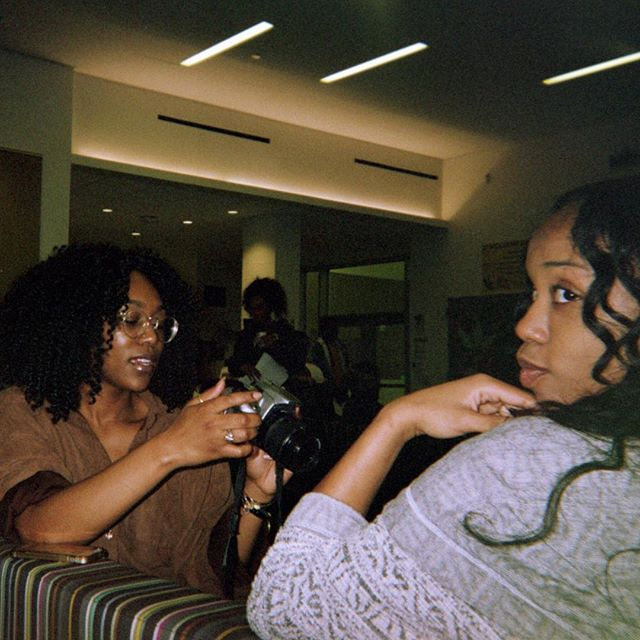 """""""Mainstream media fails to show images of Black women simply living. being ourselves. enjoying each others company. existing. so this intimate set of photos aims to do just that. to capture our existence as resistance. f.u.b.u."""" - Ayomide Odumosu  VIEW on BGM site @theayomideodumosu's photo essay """"Existence as Resistance"""" in Our Stories."""