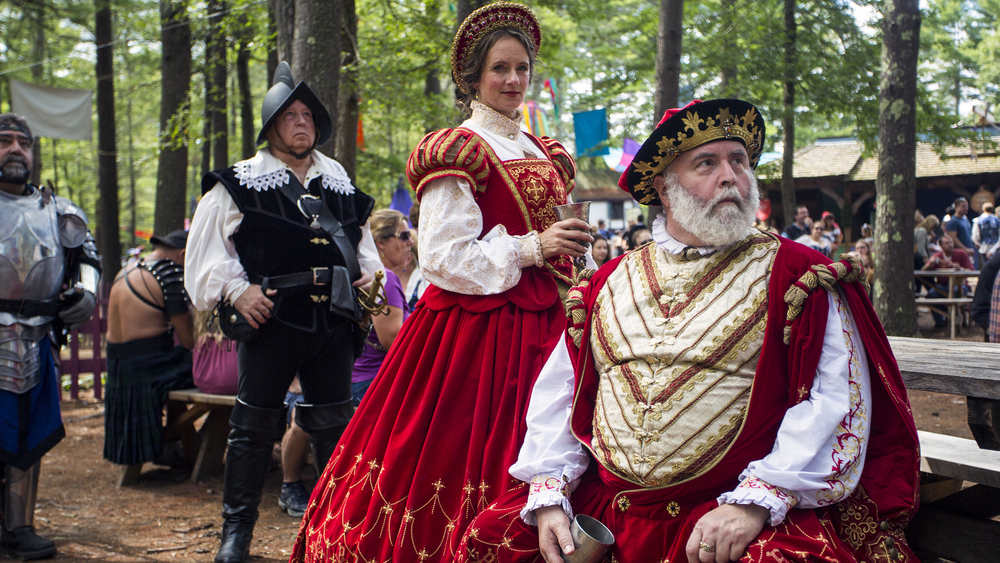 King Richard and the Queen fit right in at King Richard's Faire