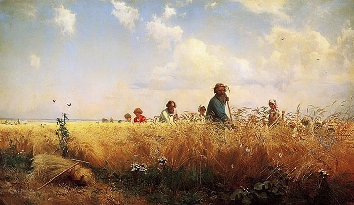 """G. Myasoyedov. """"Harvesting."""" 1887"""