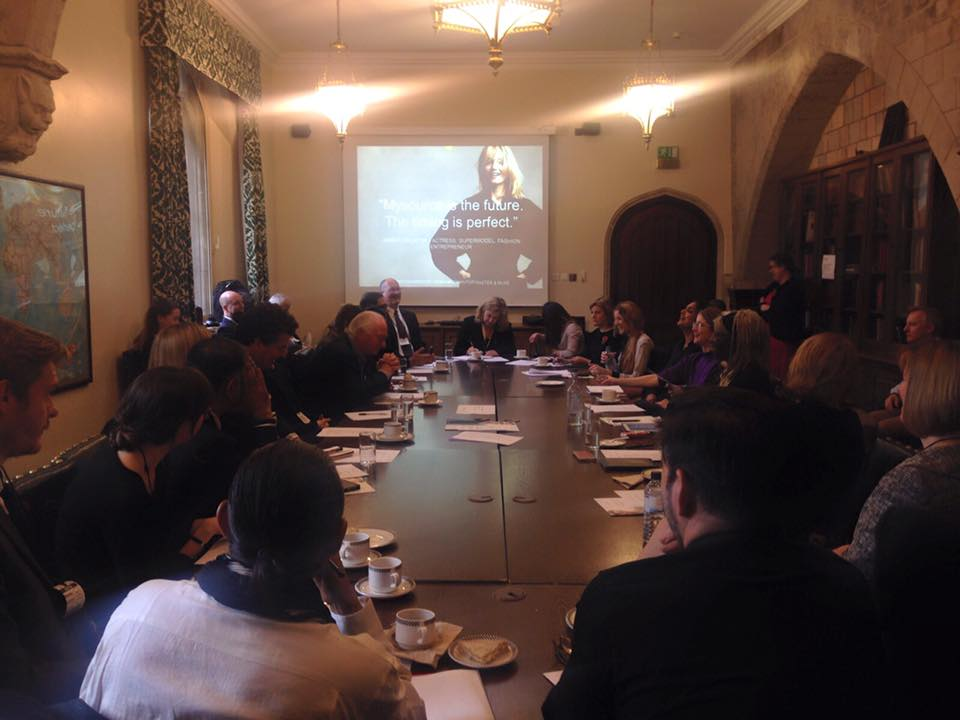A full room at the Houses of Parliament roundtable hosted by Baroness Lola Young of Hornsey and Mysource