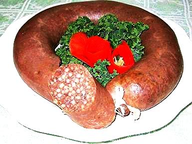 Blood Barley Sausage
