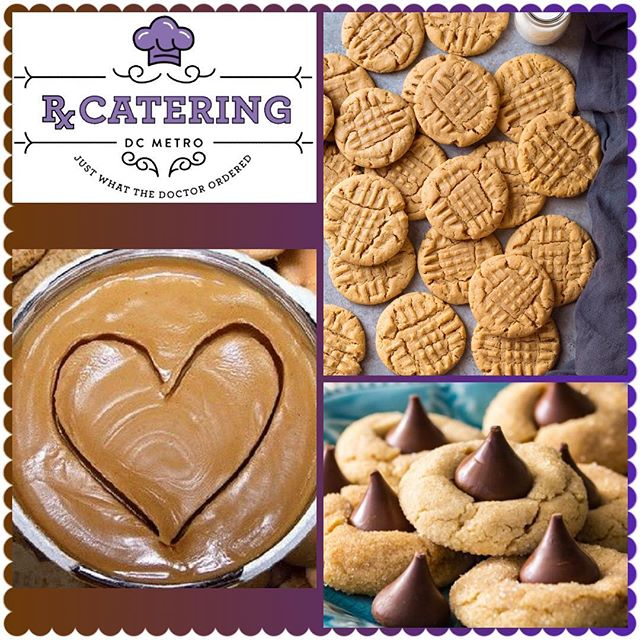 """Today is """"National Peanut Butter Lover's Day""""...of course Rx Catering has some options for you to enjoy! We cooking with 💜 & 🥜! 703-535-6955  #rxcateringdc #nationalpeanutbutterloversday #nationalpeanutbutterday #peanutbutter #peanutbuttercookies #wecookwithlove #catering #cateringservice #smallbusiness #smallbiz #womanownedbusiness #blackownedbusiness #entrepreneur #peanuts"""