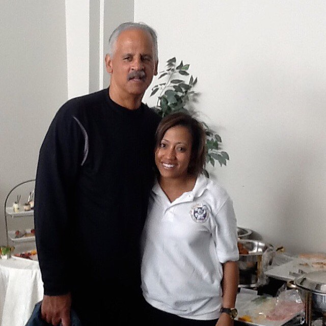 #TBT...It's amazing how many opportunities I've been exposed to with Rx Catering - grateful to have this gentleman experience Rx cuisine!  Who's next??? We cook with 💜 703-535-6955  #rxcateringdc #stedmangraham #dcfoodporn #dcfoodie #catering #cateringservice #whycook #letuscateryournextevent #smallbusiness #smallbiz #blackownedbusiness #womanownedbusiness #entrepreneur #blessed #workingtowardscelebritycatering