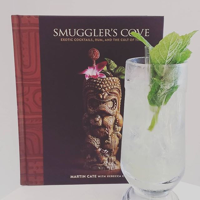 Thought that if start with the simple and delicious Chartreuse Swizzle, courtesy of the new @smugglerscovesf book. Can't wait to read the whole thing!
