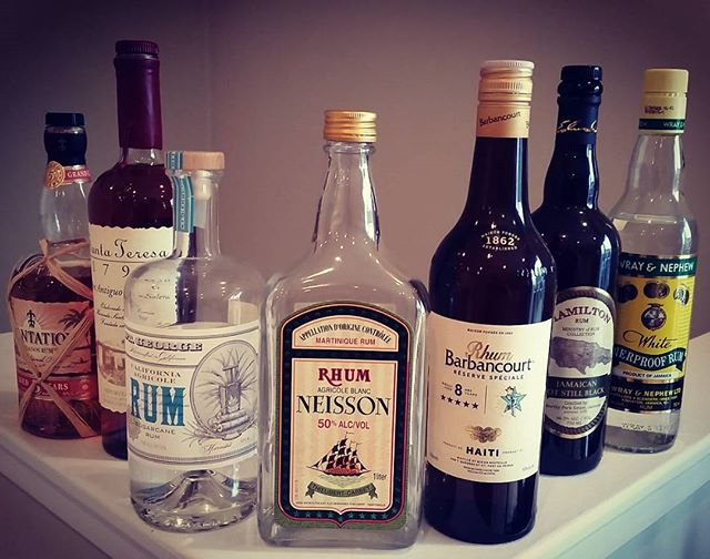 Too hard to pack everything into one sitting for an intro rum tasting, but sure to spark fun conversations.