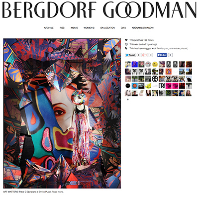Peter D. Gerakaris at Bergdorf Goodman - Architectural Digest